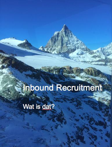 Wat is inbound recruitment?