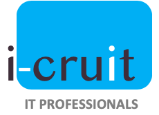 logo i-Cruit IT professionals