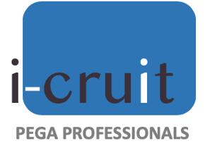 logo i-Cruit Pega Professionals