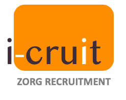 logo i-Cruit zorg recruitment oranje-1
