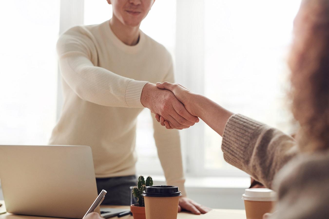 Sales hand